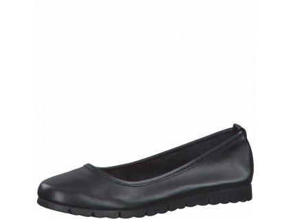 Dámská obuv celoroční  Jana DC 8-22119/26 kožená šíře H
