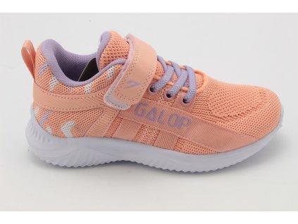 Dětská obuv sportovní - SA L66404.361 lososová