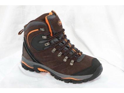 Pánská obuv Alpinex A417032A (Barva hnědá, Velikost 46)