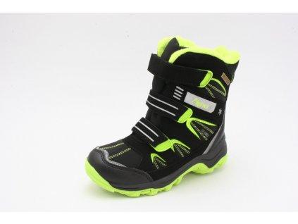 Dětské boty Alpinex A217027 (Barva Zelená, Velikost 34)