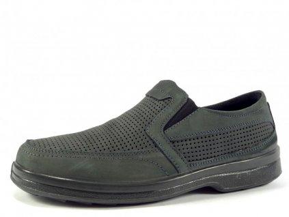 """Pánská obuv celoroční, kožená-šířka """"H"""" PC MC018"""