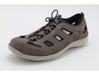 Pánská obuv celoroční Josef SEIBEL PC 43392 kožená šíře H