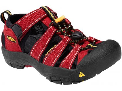 Dětská obuv Keen Newport Carnelian (Velikost 34)