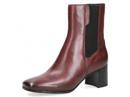 Dámská zimní kožená obuv CAPRICE  DZ 9-25306/27