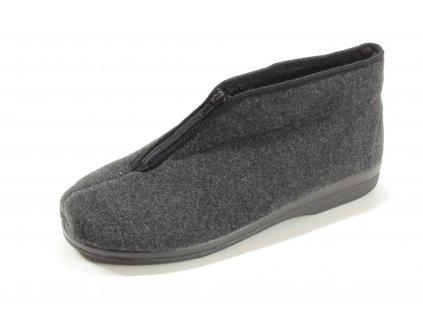 Pánské pantofle Adanex PD 22530 zateplené