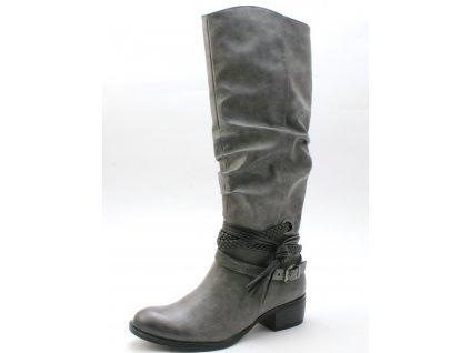 Dámská obuv Marco Tozzi 2-25507/29 (Barva šedá, Velikost 41)