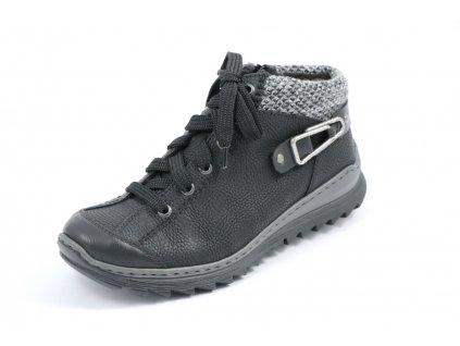 Dámské boty Rieker M6238-01 (Barva černá, Velikost 37)