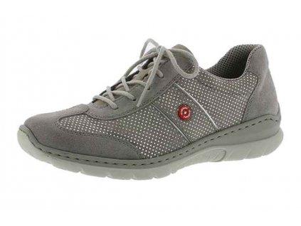 Dámská obuv Rieker L3220-40 (Barva šedá, Velikost 40)