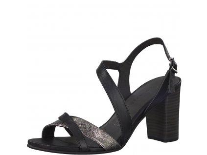 Dámské sandály Tamaris 1-28016/20 (Barva černá, Velikost 41)
