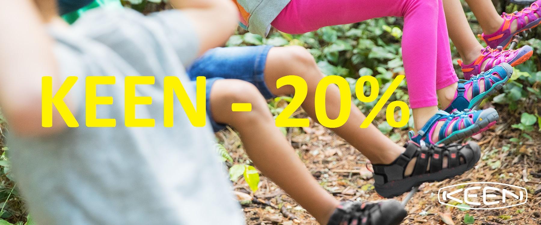 keen - sleva 20 %