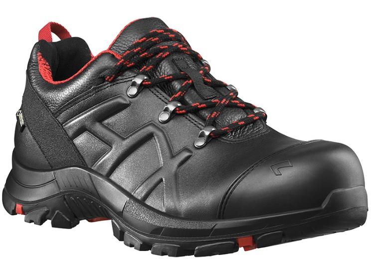 Pracovná obuv HAIX špeciálne navrhnutá pre pracovníkov údržby ciest a staviteľov.
