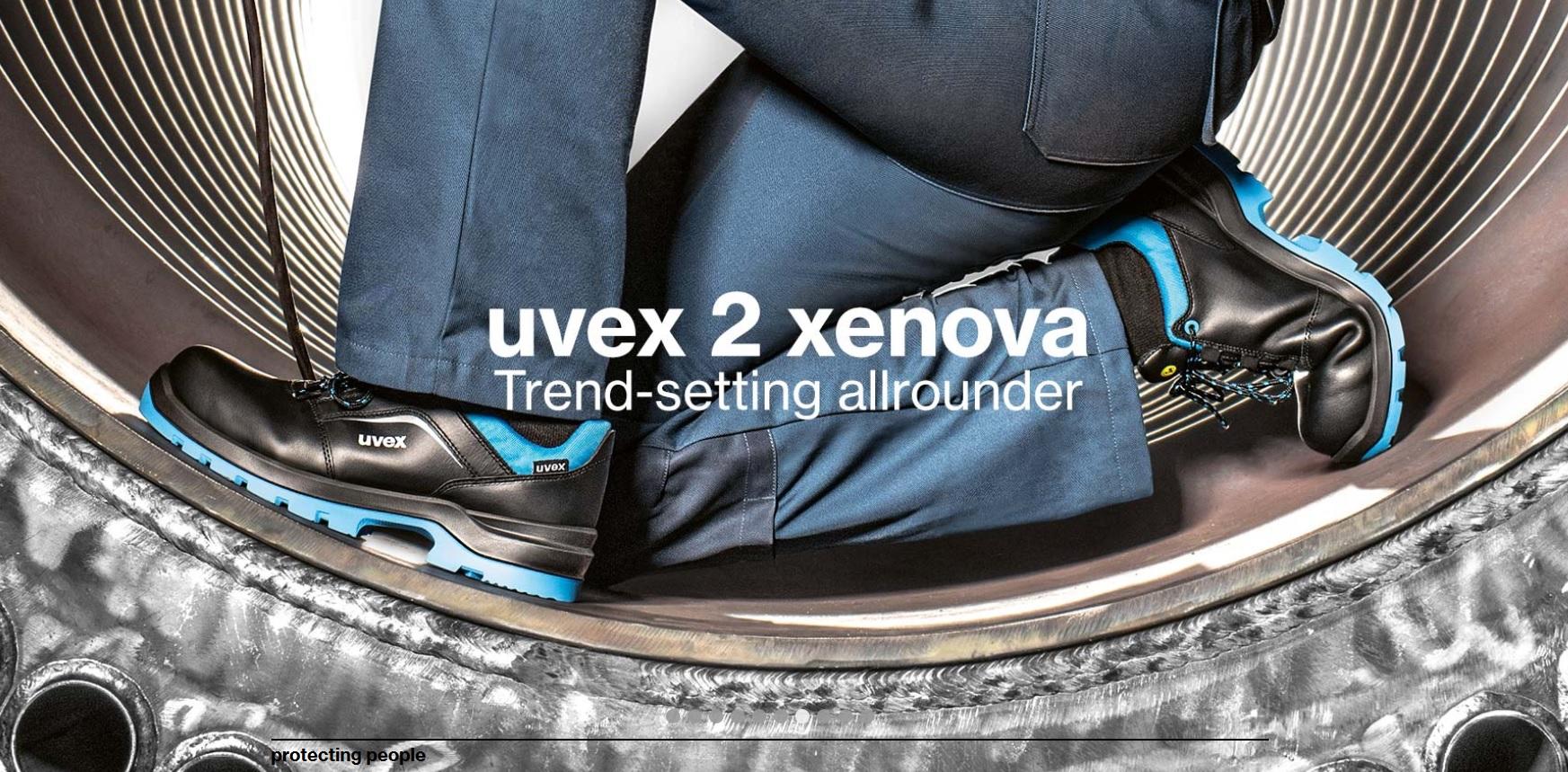 Pracovná a bezpečnostná obuv UVEX