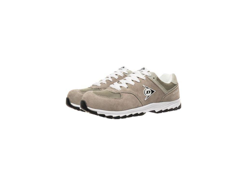 dunlop hnedá pracovná obuv 2