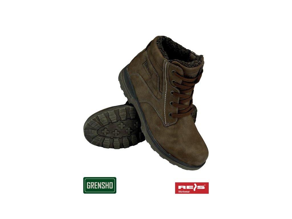 bc8c28502275 RW00 - BOGRIZZLY Zateplená členková obuv