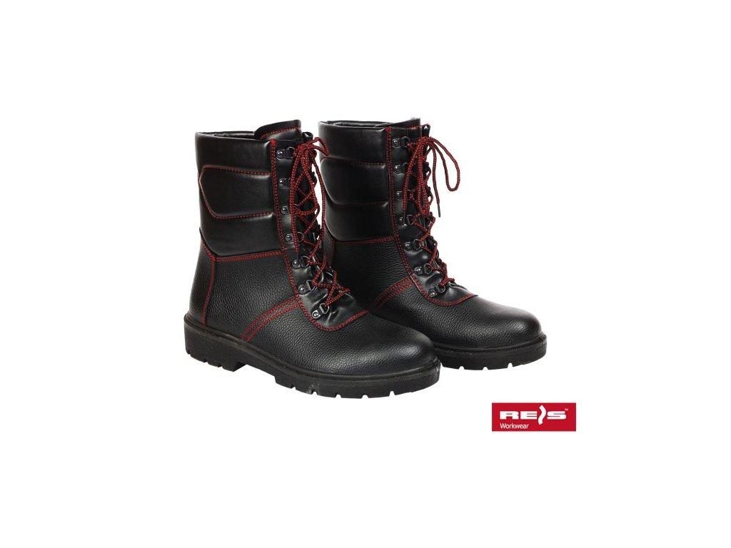 RW00 - BRWINTER Pracovná zateplená obuv