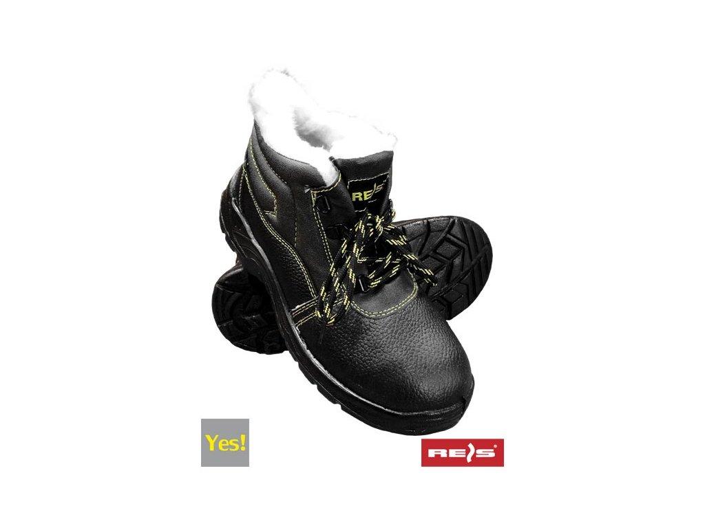 RW00 - BRYES-TO-OB Zateplená pracovná obuv
