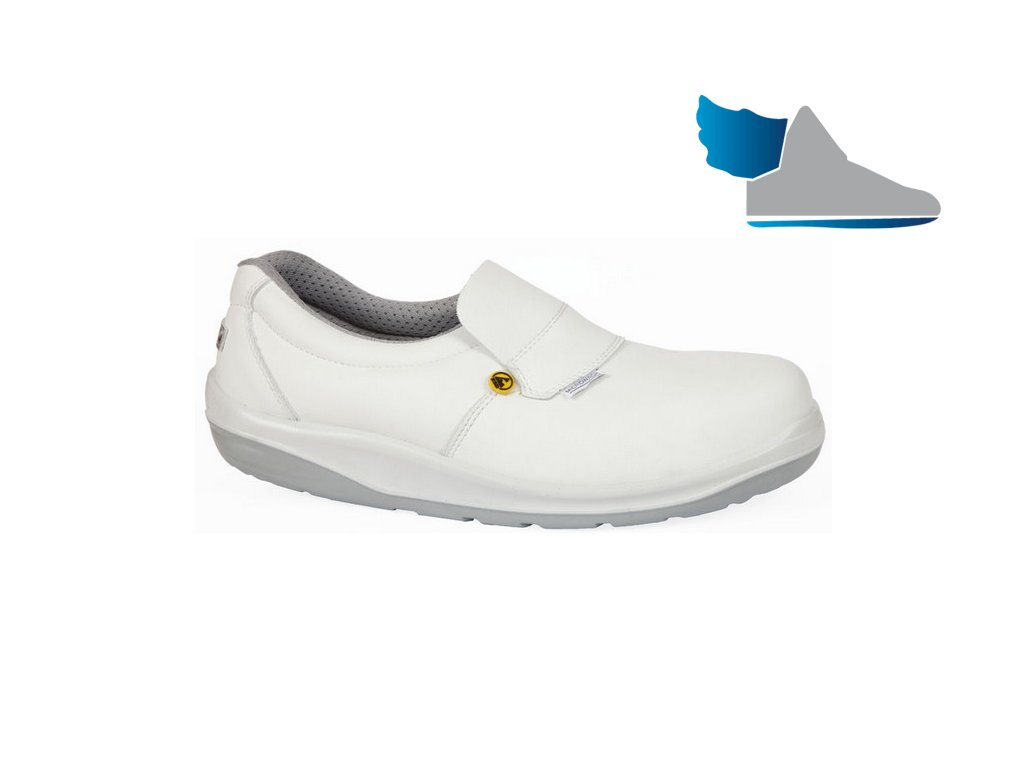 biela bezpečnostná obuv S2 GIASCO