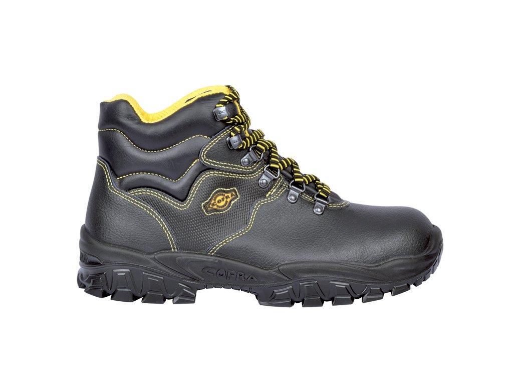 a74604bb2e0db Členková bezpečnostná obuv s oceľovou špičkou COFRA NEW SENNA S1 P SRC :  TALIANSKÁ VÝROBA