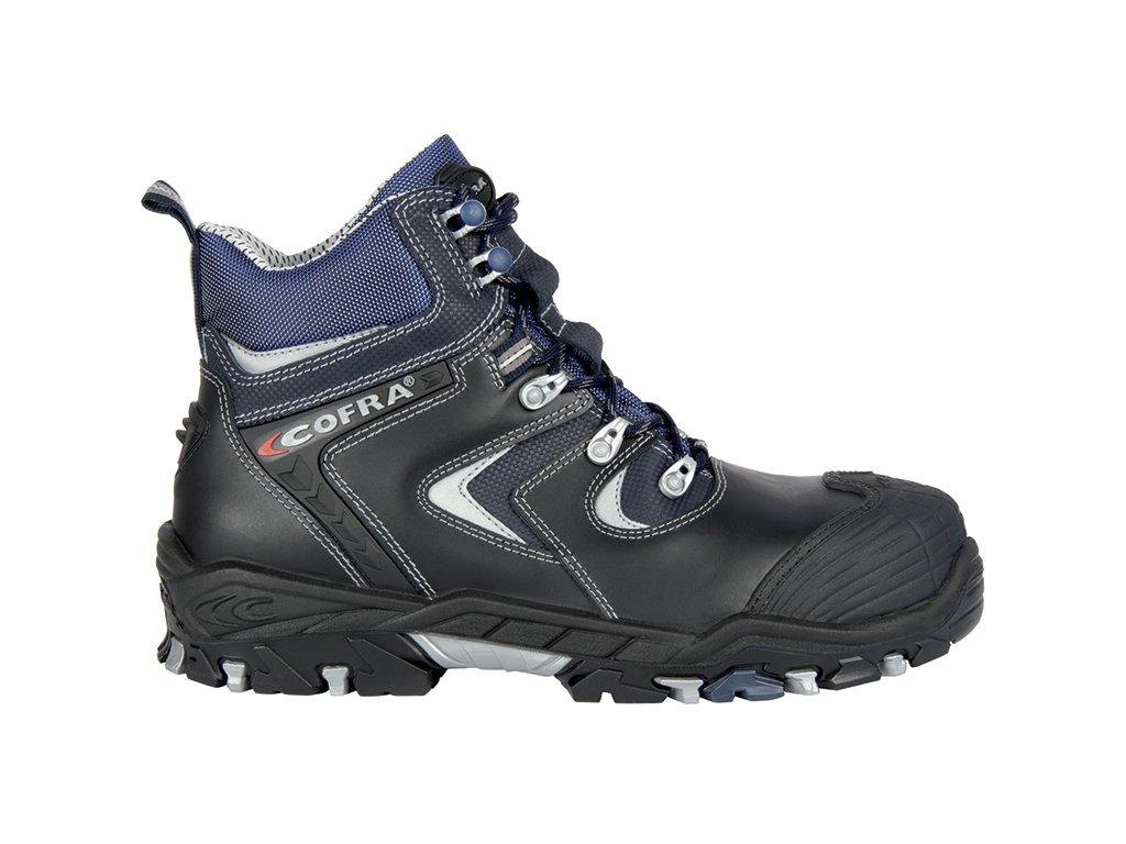 Bezpečnostná členková obuv S3 s kompozitnou špičkou COFRA KONAN S3 SRC : TALIANSKÁ VÝROBA