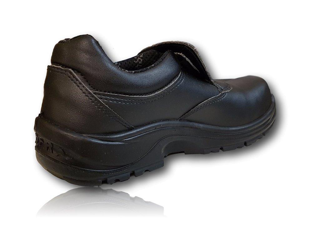 e8701cd057bd6 ... Bezpečnostná pracovná obuv výrobcu COFRA model TIBERIUS S3 SRC bočný  pohľad z vnutornej strany ...