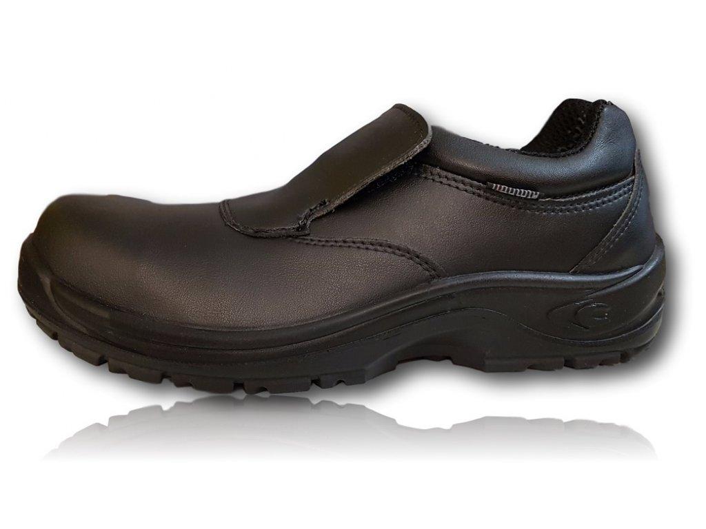d81b876e121e7 ... Bezpečnostná pracovná obuv výrobcu COFRA model TIBERIUS S3 SRC bočný  pohľad ...