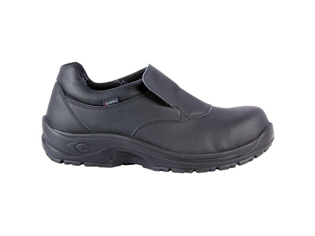 čierna bezpečnostná obuv COFRA model Flavius