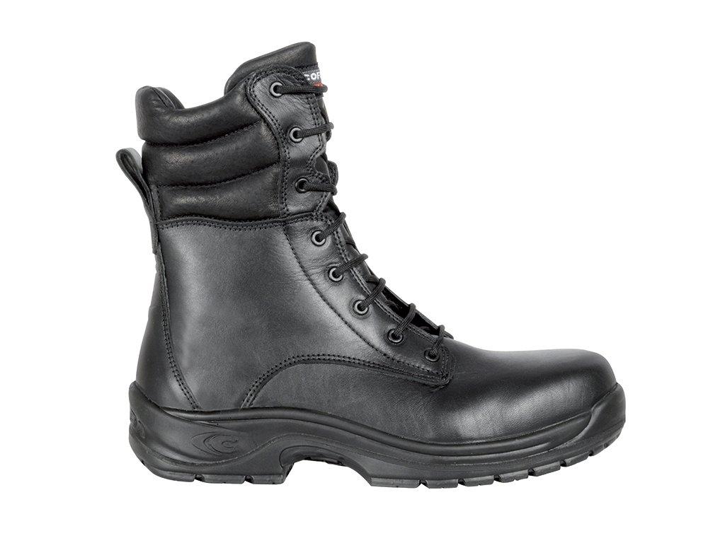 Zimné bezpečnostné čižmy  s nekovovou špičkou COFRA  HELIX S3 CI HRO SRC : TALIANSKÁ VÝROBA
