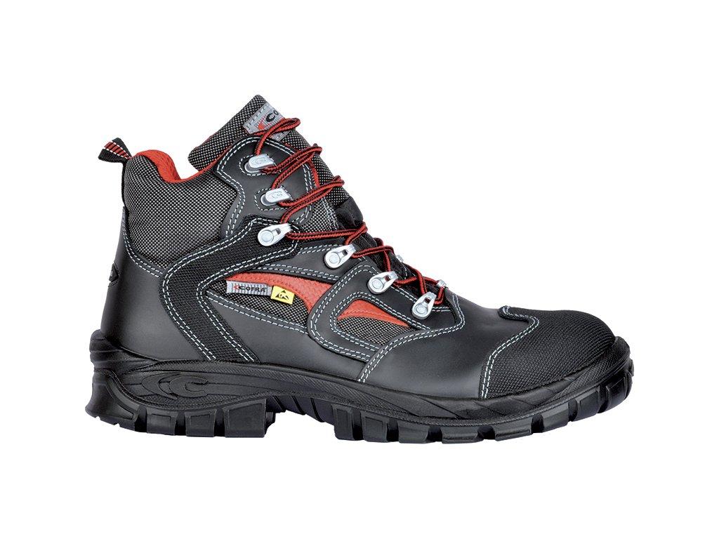 141ad947b884d Čierna bezpečnostná obuv CALIGOLA BLACK S2 SRC