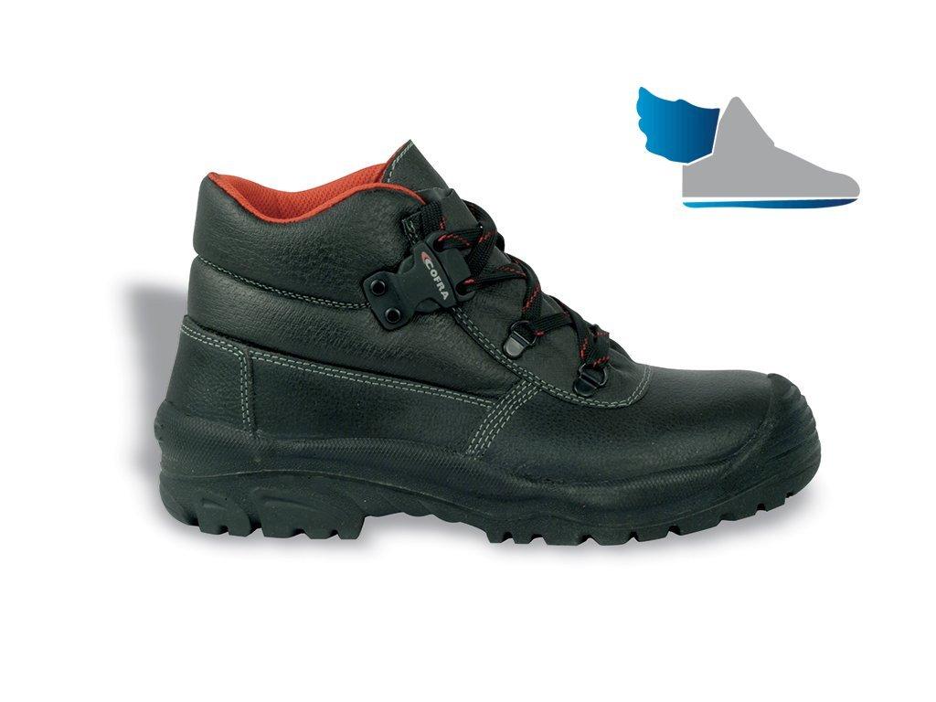 6bde9dd96 pracovná obuv s oceľovou špičkou COFRA LHASA S3