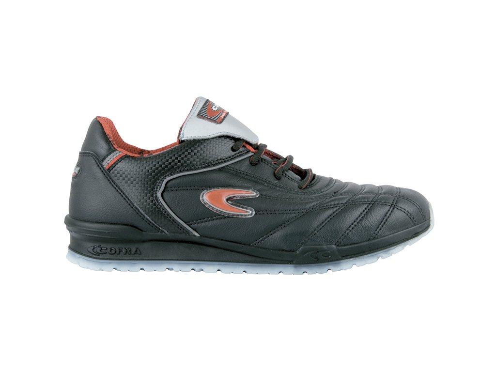 Pracovná obuv bez oceľovej špičky a protišmykovou podrážkou COFRA TOWNS O1 SRC FO : TALIANSKÁ VÝROBA