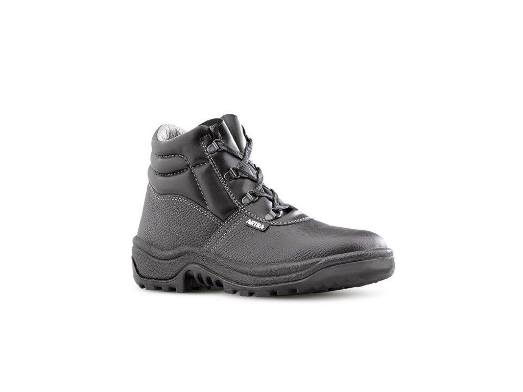 Čierna bezpečnostná obuv S1 od výrobcu ARTRA v modele ARAUKAN 940 6060 S1 SRC