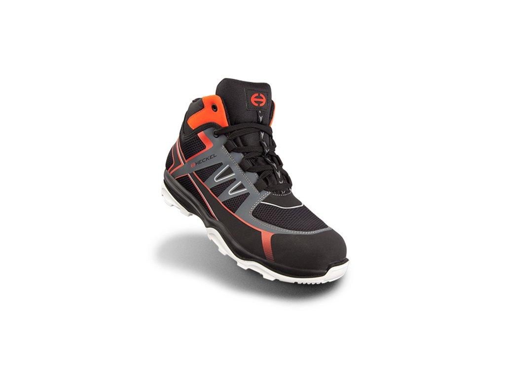 Športovo ladená bezpečnostná obuv  RUN-R 100 HIGH 6261002