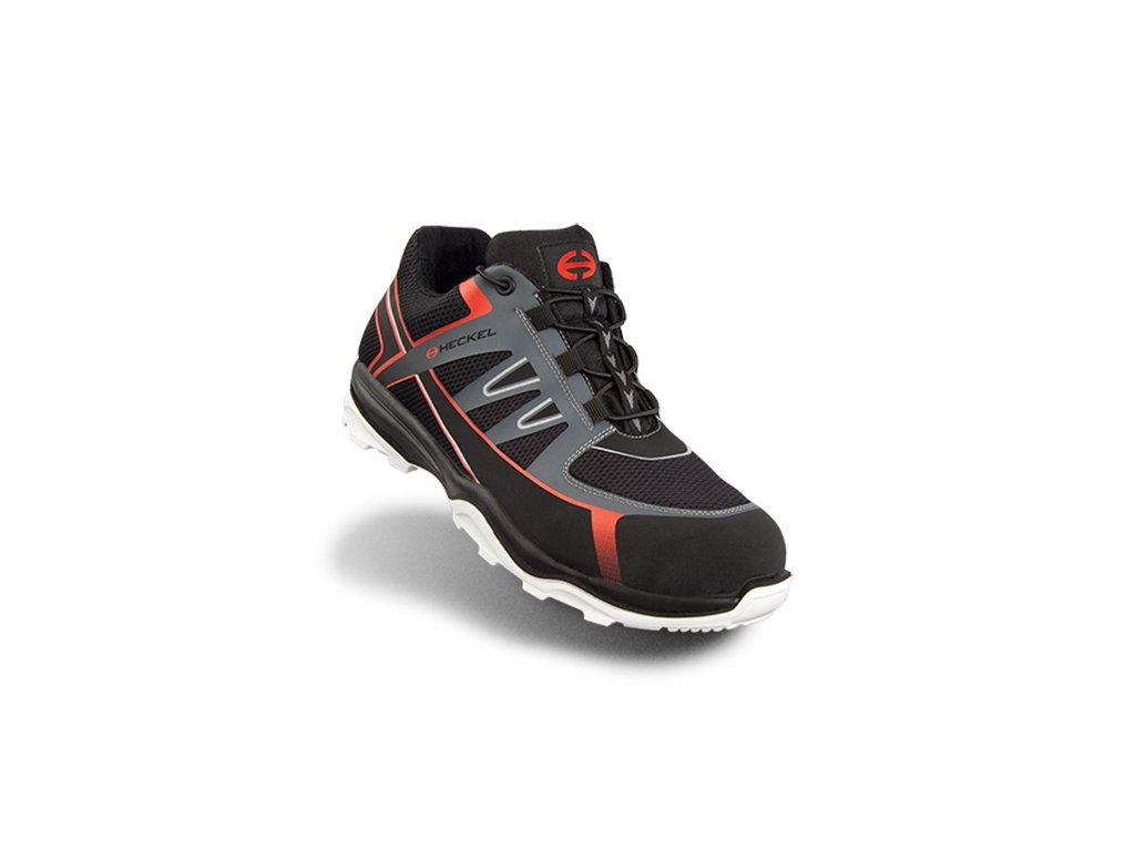 Športovo ladená bezpečnostná obuv S1 s plastovou špičkou a protišmykovou podrážkou HECKEL RUN-R 100 LOW 6261003