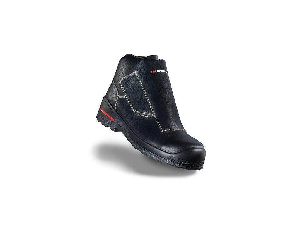 Zváračská kožená bezpečnostná obuv s nekovovou bezpečnostnou špičkou HECKEL MACSOLE 1.0 WLD LOW 6264007