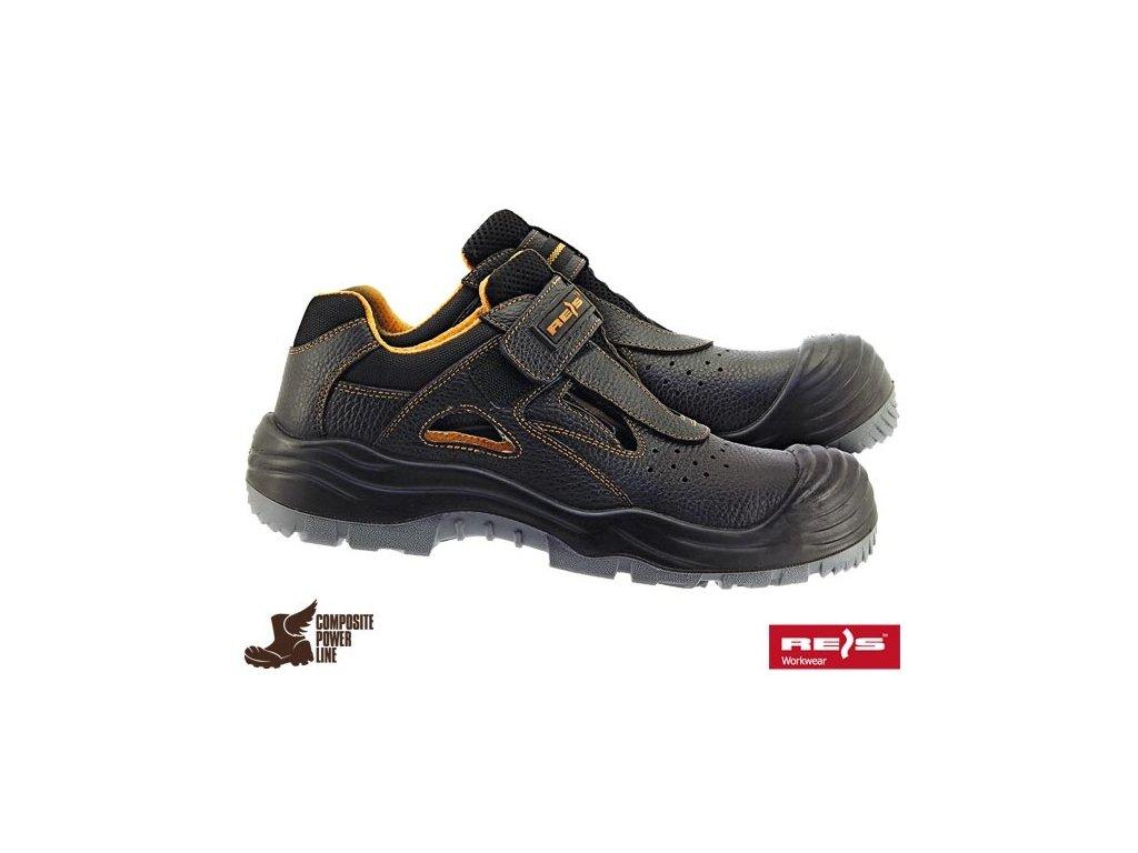 Sandály pracovné značky REIS : BCA