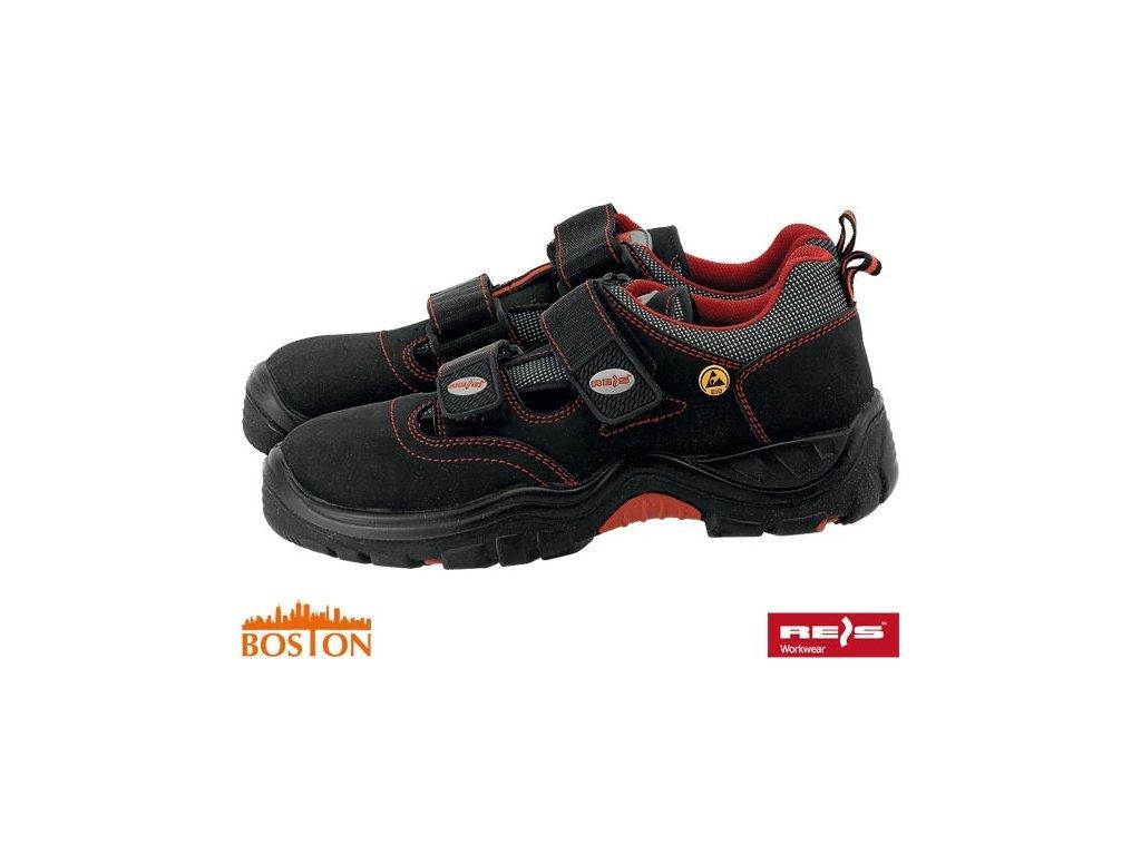 Celoročné pracovné sandály ESD : BOSTON REIS