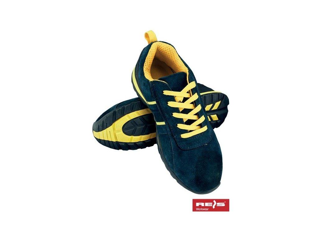 Bezpečnostná obuv športového vzhľadu s oceľovou špičkou  REIS BRNICARAGUA