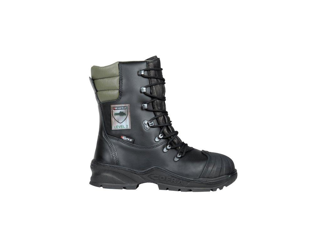 Pilčícka bezpečnostná obuv triedy 2 s bezpečnostnou špičkou COFRA POWER A E P FO WRU HRO SRC