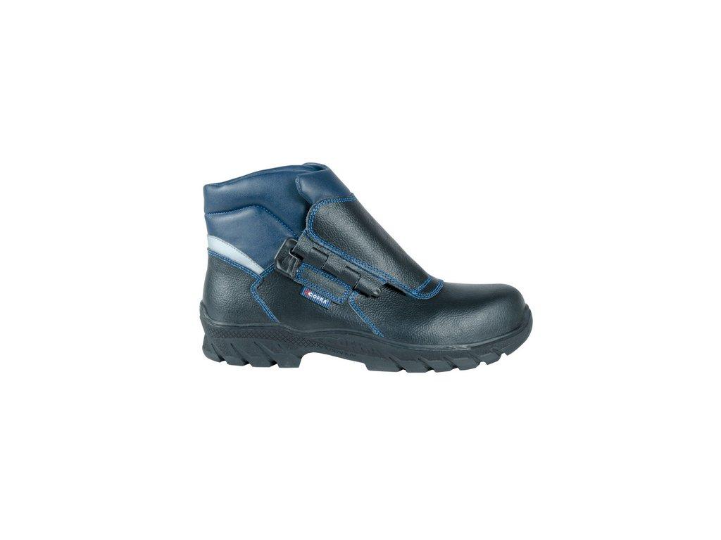 Pohodlná obuv pre zvárača s odľahčenou kompozitnou špičkou a planžetou proti prierazu COFRA SCILIAR S3 HI CI HRO SRC : TALIANSKÁ VÝROBA