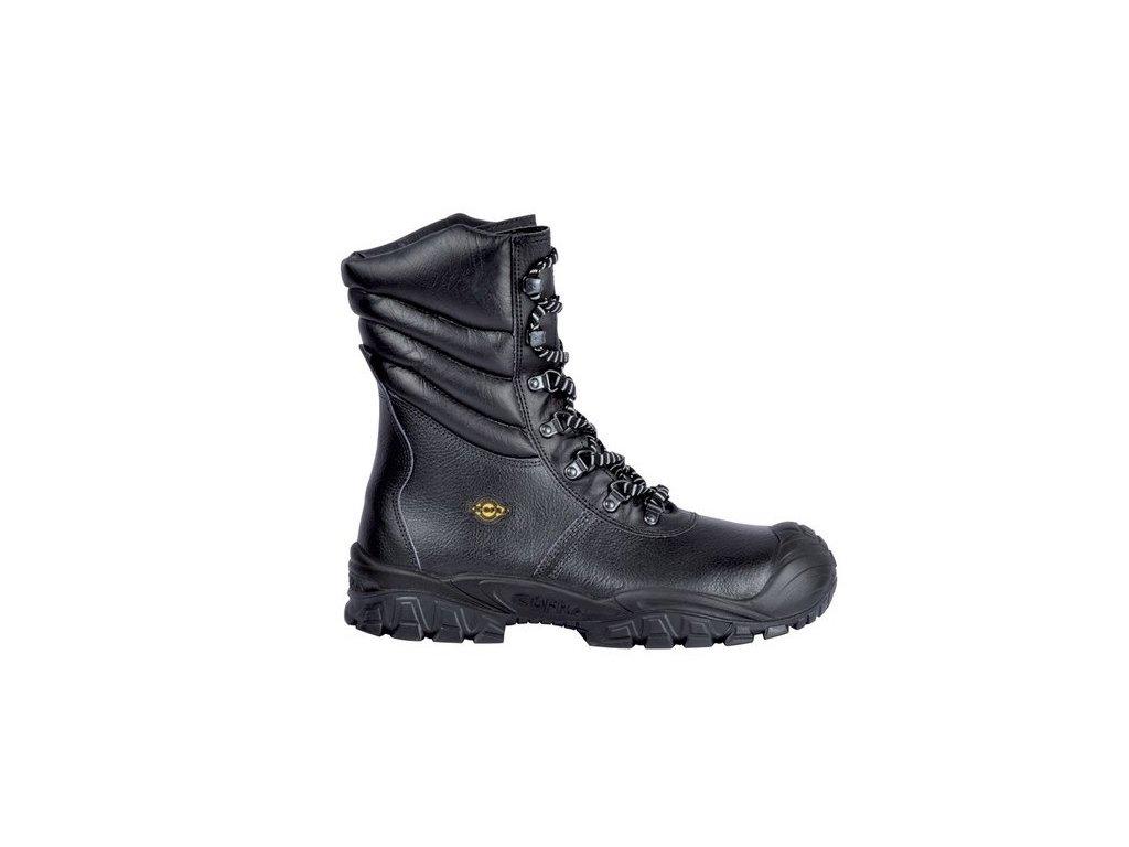 Vysoká zateplená kožená pracovná obuv s oceľovou špičkou NEW URAL UK S3 CI SRC originálne foto od dodávteľa COFRA