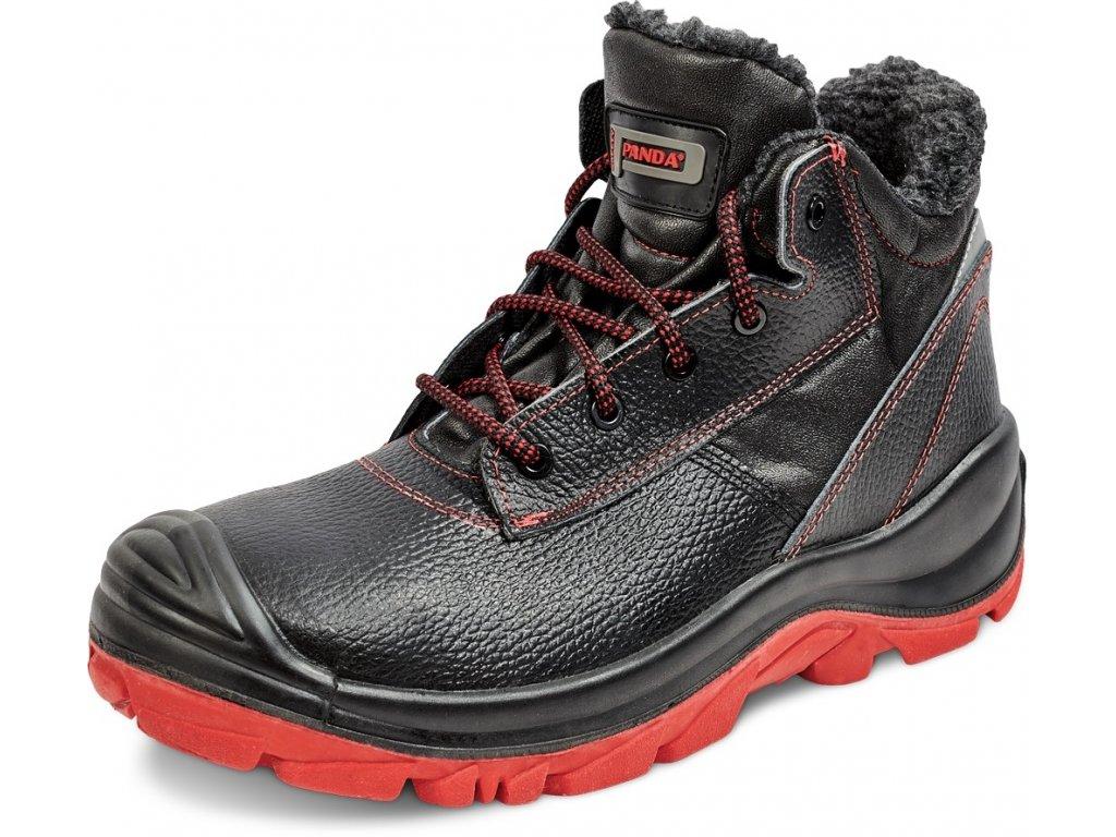 f2182e06f5ff zateplená bezpečnostná obuv PANDA CERBIATTO S3 CI HRO SRC