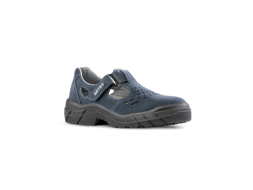 Bezpečnostné sandále s oceľovou špičkou  ARMEN 900 9360 S1 SRC