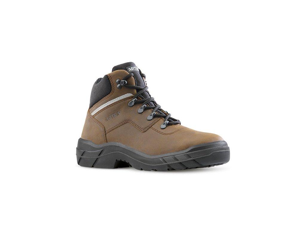 a0abd400f5068 Členková pracovná obuv s oceľovou špičkou ARLES 947 4660 S3 SRC