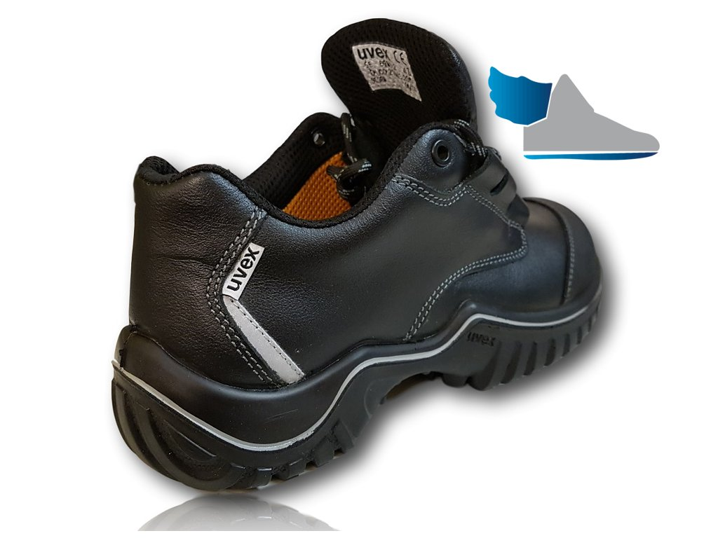 fb96e7abb1f2 ... Bezpečnostná pracovná obuv v pevedení poltopánok s odľahčenou  kompzitnou špičkou UVEX MOTION LIGHT 6985 S2 SRC ...