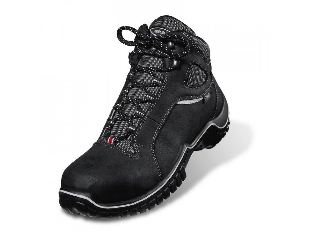 Členková bezpečnostná obuv s odľahčenou kompozitnou špičkou  UVEX 6984 S2 SRC