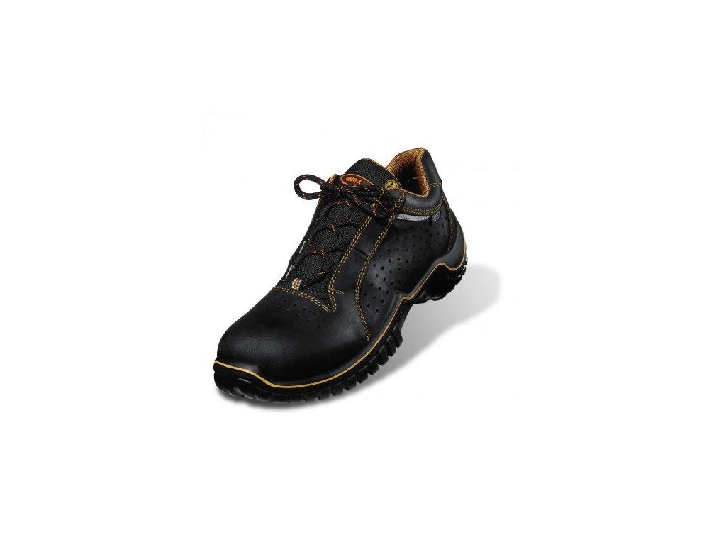 cdcc01a923d8 Pracovná obuv UVEX perforovaná 6981 S1 SRC originálna fotografia