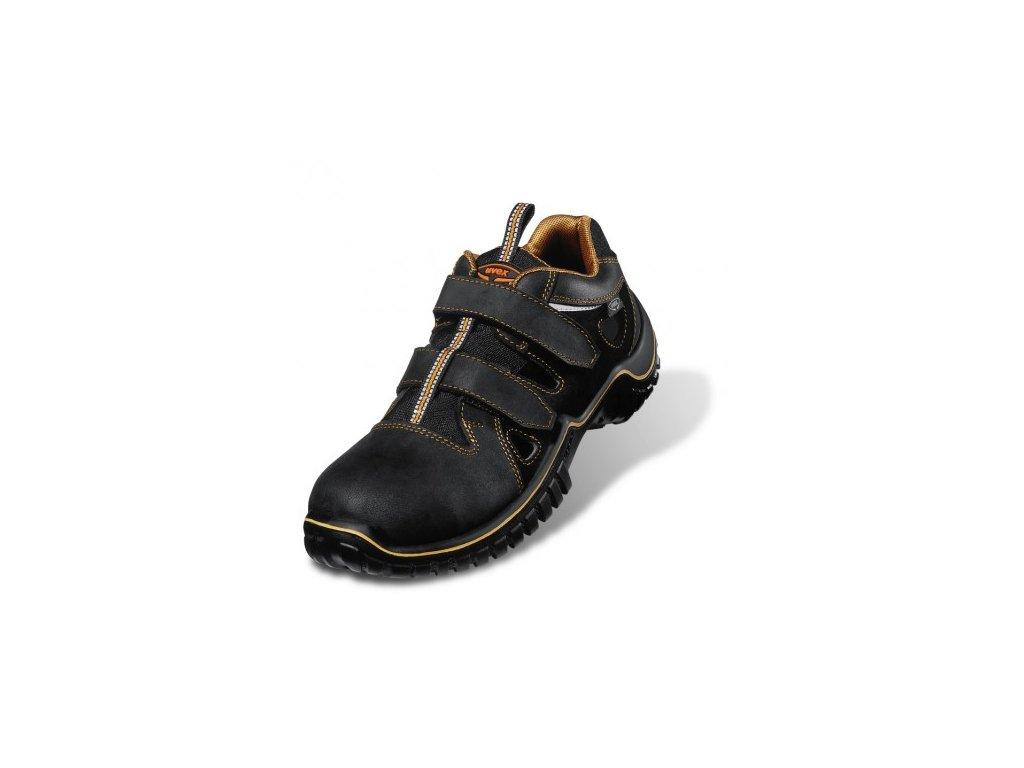Pracovné sandále s bezpečnostnou odľahčenou špičkou UVEX 6980 S1 SRC