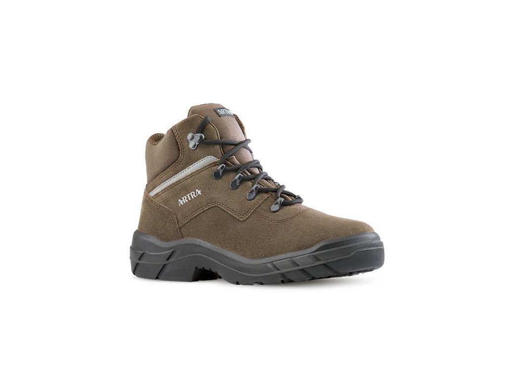 Pracovná členková obuv bez oceľovej špičky  ARLES 947 4460 O1 FO SRC