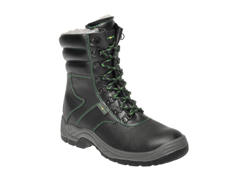 ZS - ADM CLASSIC: Holeň S3 Winter boot - black C93890