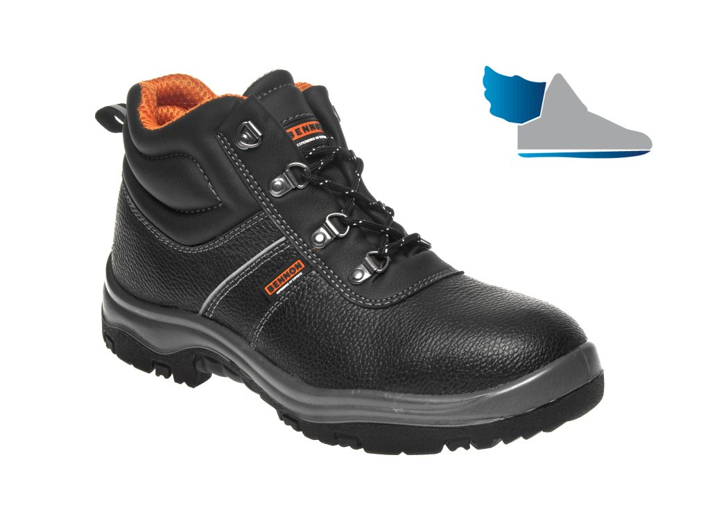 ZS - BNN BASIC: Členková obuv S3 high  Z93201